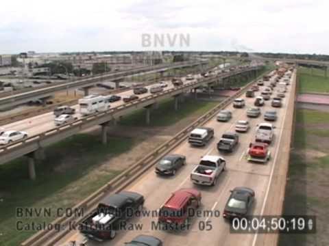 Katrina evacuation traffic on Interstate-10, August 28, 2005 b